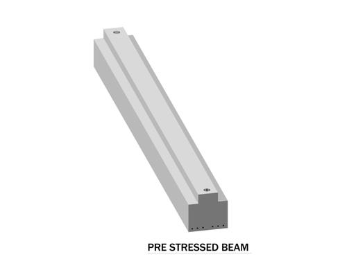 Pre Stressed Beam