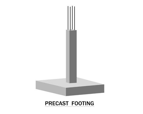 Precast Footing