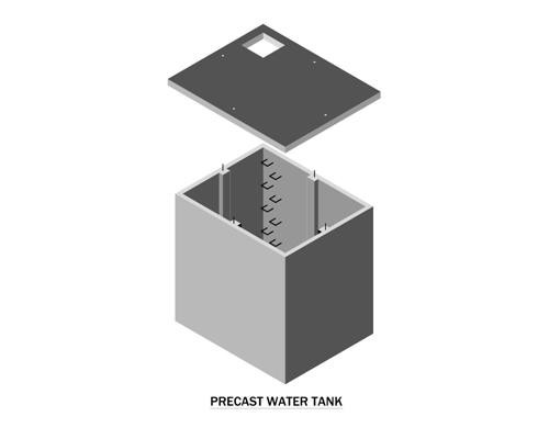 Precast Water Tank
